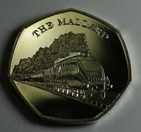 THE MALLARD Collectable Medal/Token, Fine Silver. Iconic Steam Engines