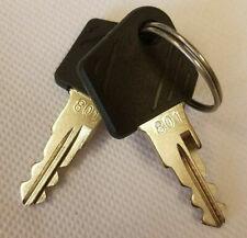 More details for keys for ignition switch for linde forklift truck model 801- keys for any truck
