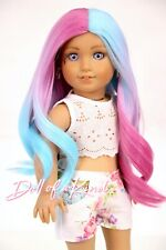 Custom American Girl Doll Wig |MERMAID |10-11 size wig| GOTZ |Blythe| OG
