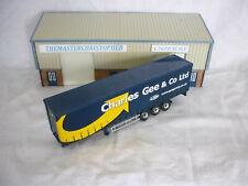 Corgi Roadscene Modern 1:76th Truck Charles Gee Curtainside Trailer