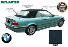 BMW E36 3-Series Convertible Soft Top 1994-1999 BLUE Stayfast & Plastic window