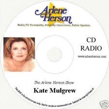 Kate Mulgrew  Radio Interview 4 segments 25 minutes  CD