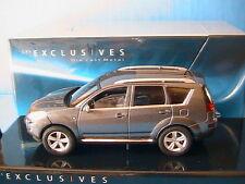 PEUGEOT 4007 GRIS VERT METAL 2007 SOLIDO EXCLUSIVE 151 388-00 MINIATURE DIE CAST