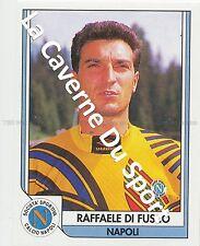 N°197 RAFFAELE DI FUSCO ITALIA SSC.NAPOLI STICKER SERVICE LINE TUTTO CALCIO 1994