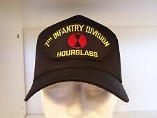 """#1599 7th Infantry Division """"Hourglass"""" Ballcap Cap Hat"""