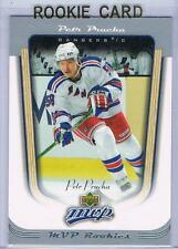 2005-06 UD MVP PETR PRUCHA ROOKIE CARD #419 RANGERS