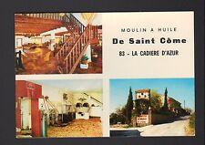 """LA CADIERE D'AZUR (83) MOULIN à HUILE de SAINT-COME """"G. ALLIONE Propriétaire"""""""