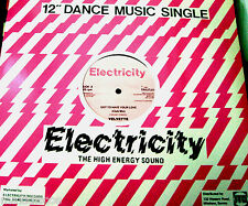 "12"" - Velvette - Got To Have Your Love (HI NRG) ORIGINAL ELECTRICITY R. 1984 NEW"