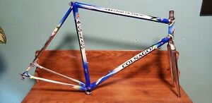 Vintage Colnago Master Olympic Frame With Stiletto Chrome Fork