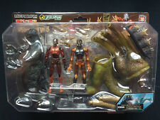 Takara Microman Micronauts Godzilla Series 1964 Vs King Ghidrah Figure Set Rare