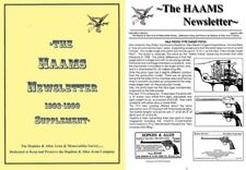 Hopkins & Allen Arms Memorabilia Society Newsletters Vol 7 and 8 - Carder