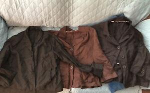 Tahari Possibly lot of three blazer women's jackets plus size 14 Possibly