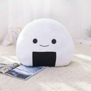 Japanese Sushi Rice Onigiri Pillow Cushion Creative Stuffed Soft Cute Plush Toy