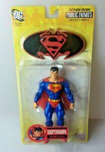DC Direct Superman/Batman Public Enemies Superman Action Figure MIB New Series 1