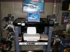 CEMB DWA1000XL front end alignment machine, 1 YEAR OLD, PERFECT CONDITION