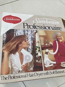 Sunbeam Professionaire Hair Dryer With Soft Bonnet HDO34