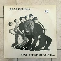 "Madness _ One Step Beyond _ LP Vinile 33giri 12"" _ 1980 Stiff Records Italy"