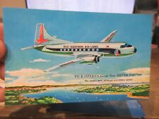 New ListingOther Old Postcard Airplane Plane Aircraft Eastern Air Lines Silver Falcon Liner