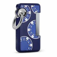 S.T. Dupont HOOKED Casino blau Jet Feuerzeug mit Schlüsselring