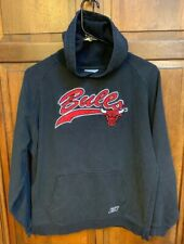 Reebok Chicago Bulls NBA Boys XL 18 20 Hoodie Black Embroidered Vintage