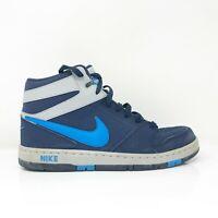 Nike Mens Prestige IV 584614-440 Blue Basketball Shoes Lace Up High Top Sz 11.5