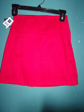 NWT Gap red pleated skorts (skirt over shorts)       Size 10 (10S) 10 slim