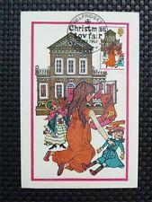 GB UK MK 1968 CHRISTMAS TOY FAIR MAXIMUMKARTE CARTE MAXIMUM CARD MC CM c4776