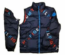 $230 Tommy Hilfiger Spell out Puffer Jacket Primaloft M...