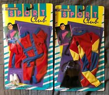 New listing Vintage Ken Snorkeling & Sports outfits (2) By Shillman 1991 Barbie BF NEW
