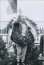 John SURTEES SIGNED Podium WINNING FERRARI F1 12x8 Photo AFTAL Autograph COA