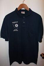 American Legion California Golden Boys State 1990's Counselor Thin Polo Shirt Lg