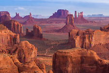BEAUTIFUL MONUMENT VALLEY CANVAS PICTURE #31 STUNNING LANDSCAPE DECOR A1 CANVAS