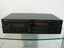 Yamaha KX-393 Piastra a cassette nero con Giocare Trim, 12 Mesi Garanzia