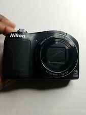 Nikon COOLPIX L610 16.0MP Digital Camera - Black Camera Only Untested Sold as Is