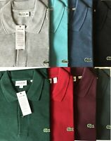 Lacoste Men's Classic Fit Pique Polo Shirt-Assorted Colors