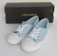 Converse Womens Size 11 Ctas Coral Ox Shoes Sneakers Powder Blue 555897F New