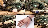 Natural LAVA Bead Diffuser Gemstone Meditation Scent Bracelet Essential Oil Yoga