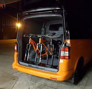 VW TRANSPORTER MTB BIKE RACK, INTERIOR MOUNT, VWT5 VWT6