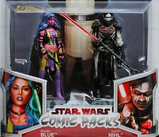 Darth Nihl Sith Deliah Blue Female Star Wars Legacy Comic Figure 2-Pack #16 MOC