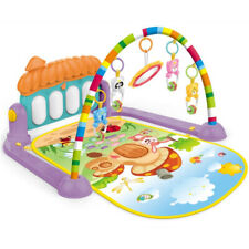 Baby Activity Gym Kick and Play Piano Mat Center With Melodies Rattle E8P5
