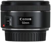 Canon EF 50mm f1.8 STM Lens Japan Domestic Version New