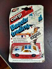 1982 CORGI #419 FORD MUSTANG MONTREAL EXPOS BASEBALL TRADING CAR