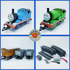 Bachmann G Scale | Thomas & Friends | Percy, Thomas, Annie & Trucks Train Set