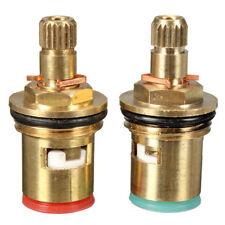 Replacement Quarter Turn Ceramic Disc Cartridge Tap Valves Hot Cold Repair Set