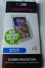 Samsung Galaxy S4 paquete doble de Protector de pantalla por Rocketfish (1st clase P + P)