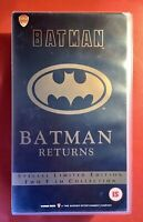 Batman Batman Returns VHS Boxset Retro Vintage Video Special Limited. Edition