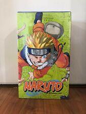 Naruto box set 1-27 manga new sealed paperback