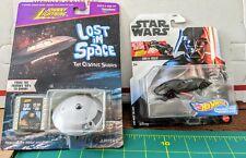 Johnny Lightning/Lost In Space-Jupiter 2-Playing Mantis & Star Wars Darth Vader