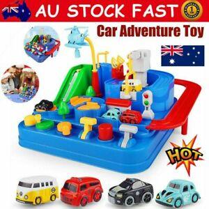 Children's Educational Toy Car Big Adventure Track Car Railway Track Car Game BZ