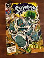 Superman Man of Steel #18 1st app Doomsday 3rd print DC Comics 1992 VF/NM